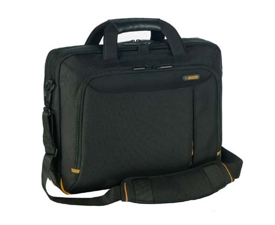 "Dell Targus Meridian II Toploading Fits up to size 15.6 "", Black, Waterproof, Shoulder strap, Nylon, Messenger - Briefcase, image 1"