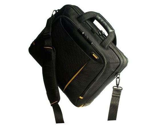 "Dell Targus Meridian II Toploading Fits up to size 15.6 "", Black, Waterproof, Shoulder strap, Nylon, Messenger - Briefcase, image 5"