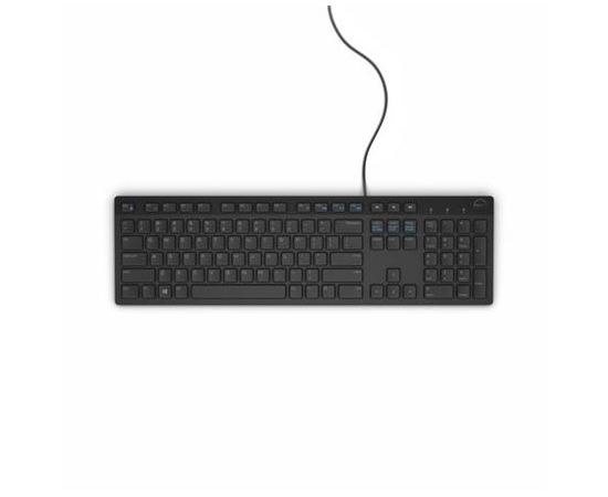 Dell KB216 Standard, Wired, Estonian, Black, USB, image 2