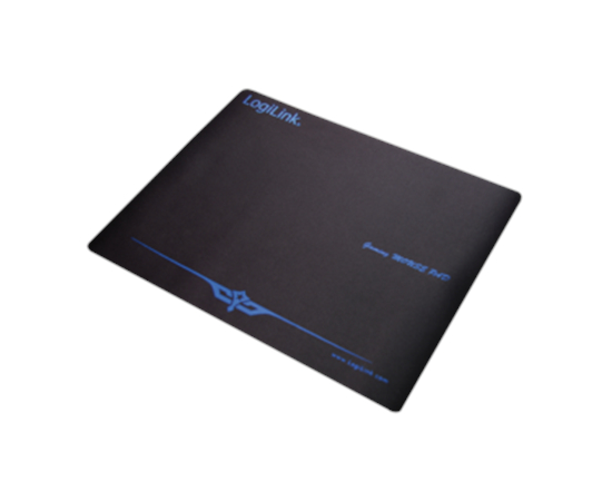 Logilink Mousepad XXL Black, Gaming mouse pad, Rubber, 400 x 3 x 300 mm, фото 1