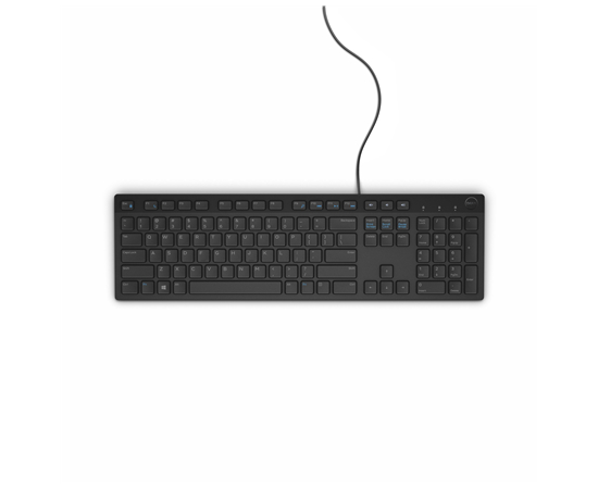 Dell KB216 Standard, Wired, Keyboard layout Russian, Black, Russian, Numeric keypad, 503 g, image 3