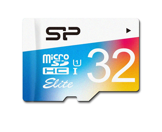 Silicon Power Elite UHS-1 Colorful 32 GB, MicroSDHC, Flash memory class 10, SD adapter, image 3
