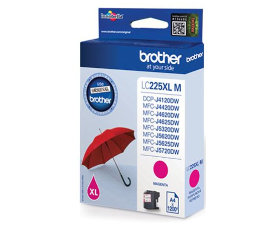 Brother LC-225XLM Ink Cartridge, Magenta, фото 3