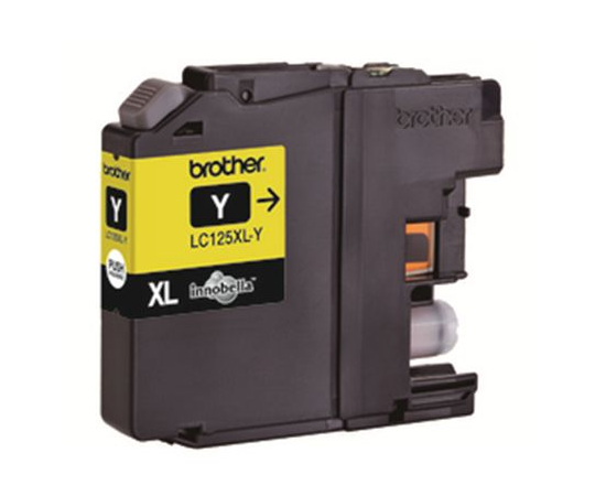Brother LC125XLY Ink Cartridge, Yellow, фото 1