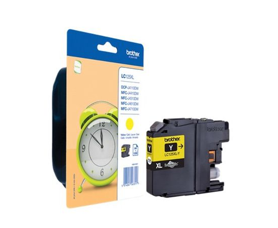 Brother LC125XLY Ink Cartridge, Yellow, фото 3