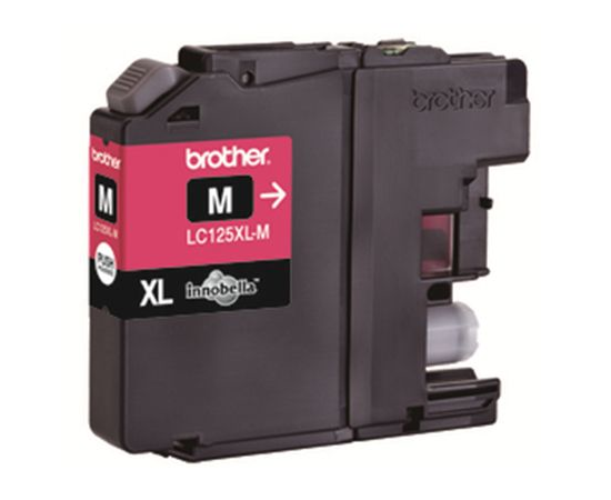 Brother LC125XLM Ink Cartridge, Magenta, image 1