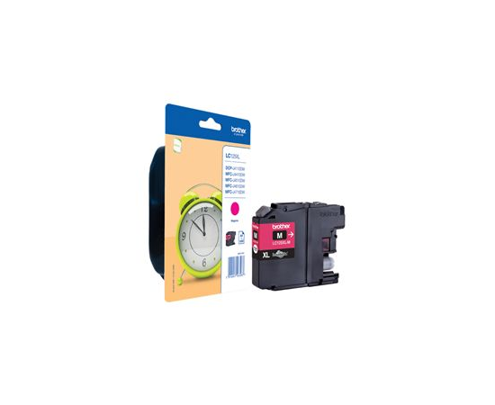 Brother LC125XLM Ink Cartridge, Magenta, image 3