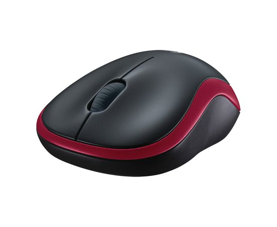 Logitech LGT-M185R Red, Yes, Wireless Mouse, фото 5