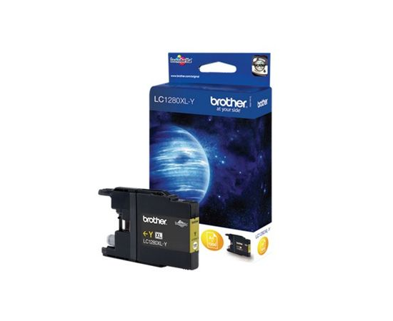 Brother LC1280XLY Ink Cartridge, Yellow, фото 2