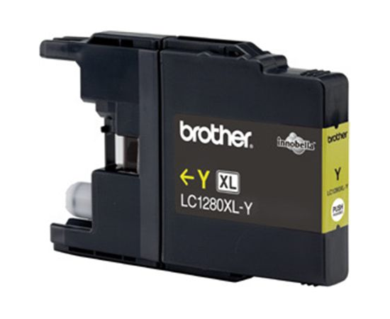Brother LC1280XLY Ink Cartridge, Yellow, фото 3