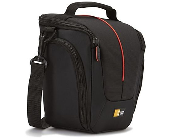 Case Logic DCB-306 Black, * Designed to fit an SLR camera with standard zoom lens attached * Internal zippered pocket stores memory cards, filter or lens cloth * Side zippered pockets store an extra battery, cables, lens cap, or small accessories * Lid un, фото 1