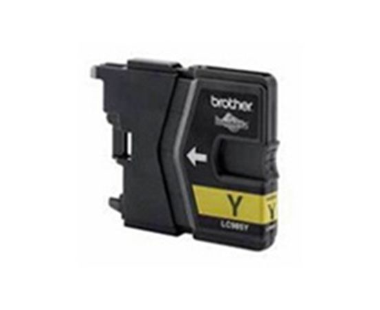 Brother LC985Y Ink Cartridge, Yellow, фото 1
