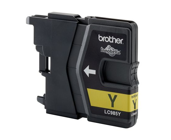 Brother LC985Y Ink Cartridge, Yellow, фото 2