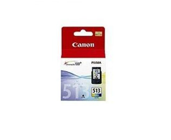 Canon CL-513 Tri-Colour Ink Cartridge, Cyan, Magenta, Yellow, image 1