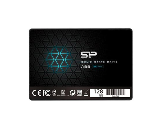 """Silicon Power A55 128 GB, SSD form factor 2.5"""", SSD interface Serial ATA III, фото 1"""