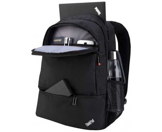 """Lenovo ThinkPad Essential Fits up to size 15.6 """", Black, Backpack, image 3"""