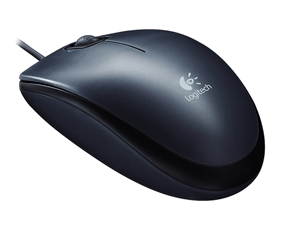 Logitech Mouse M100 Wired, No, Black,, image 3