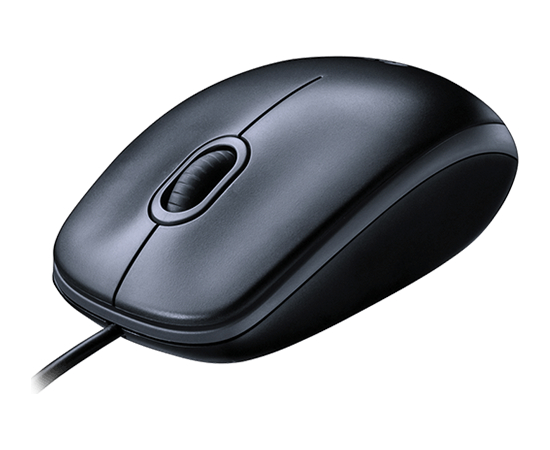 Logitech Mouse M100 Wired, No, Black,, image 2