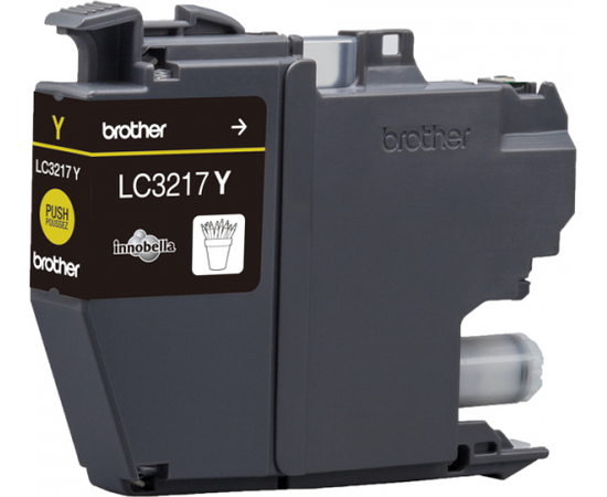 Brother LC3217Y Ink Cartridge, Yellow, фото 2